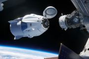 SpaceX Dragon Capsule Travels and Docks at  the Space Station and Returns to Earth