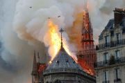 The Tragic Burning of Notre Dame of Paris