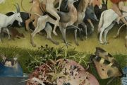 The Garden of Earthly Delights - Museo del Prado in Madrid, Spain