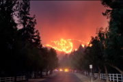 Massive Wildfires Rage in California