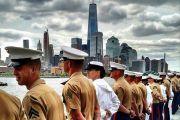Service Men and Women Invade The Big Apple for Fleet Week
