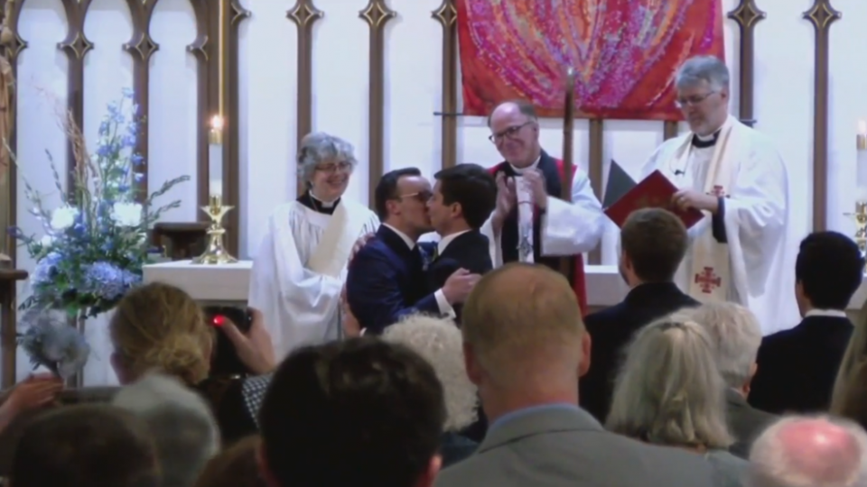 Pete and Chasten Buttigieg get married in South Bent Indiana Episcopal Church