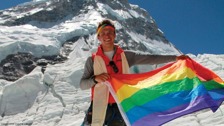 Gay Mountaineer Cason Crane Knows How to Surmount Homophobia