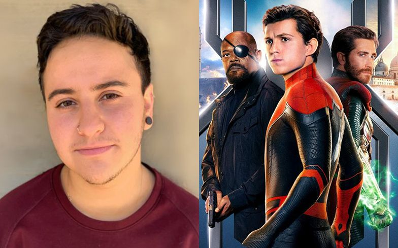 Zack Barrak is first transexual to play a major role in a Marvel Cartoon Hero Movie: Spider Man