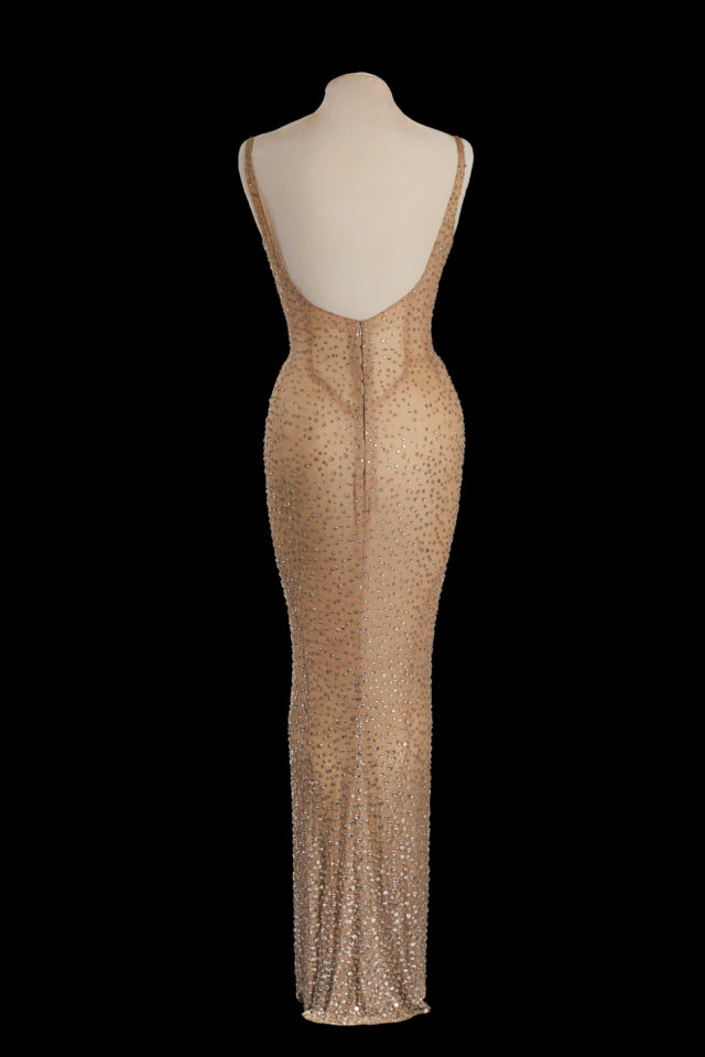 Marilyn Monroe Dress JFK Birthday
