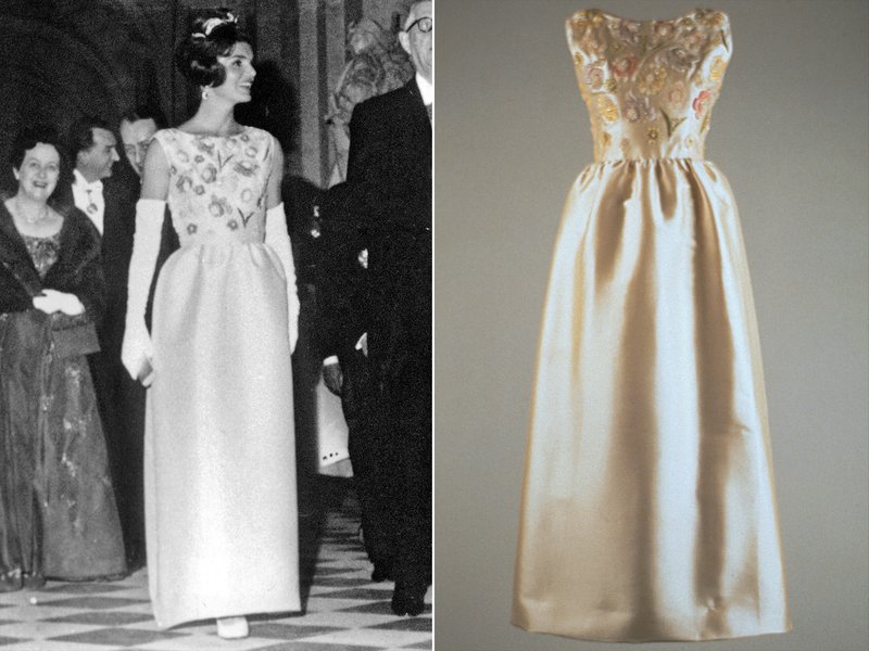 Jackie Kennedy long Givenchi Dress