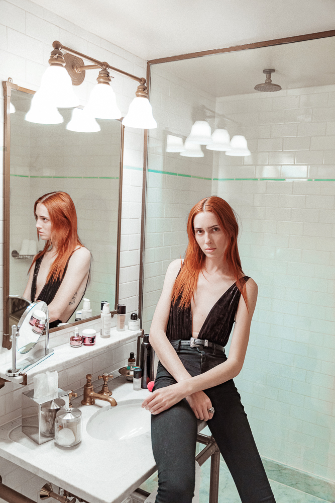 teddy quinlivan dressing room