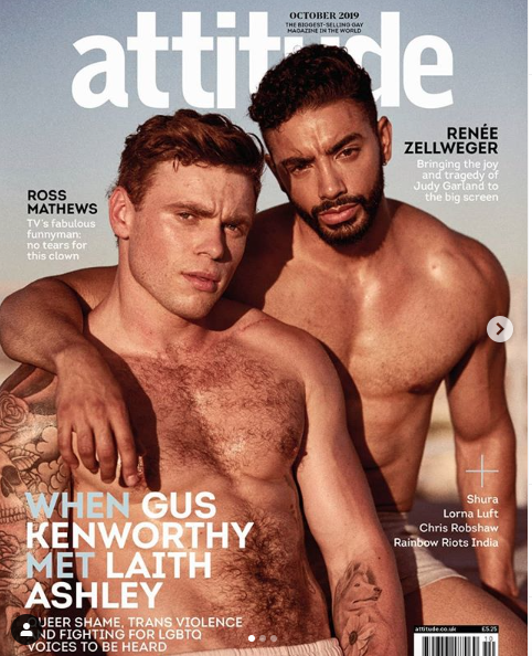 Gus Kenworthy and Laith Ashley
