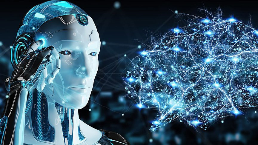 artificial intelligence robot and brain