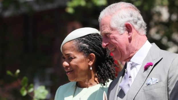 Prince Charles and Maghans mom