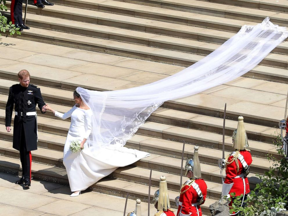 royal wedding harry meghan stairs train gty thg 180519 hpMain 4x3 992