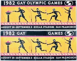 gaygames poster First in San Francisco