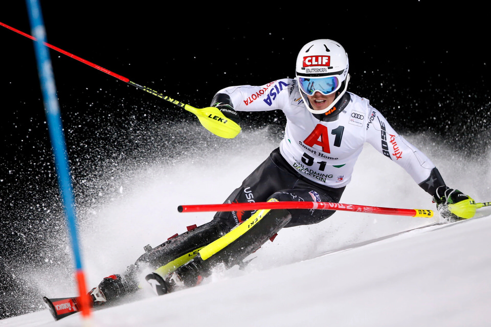 Roberts competed in the Audi FIS Alpine Ski World Cup mens slalom in Austria in 2019 1