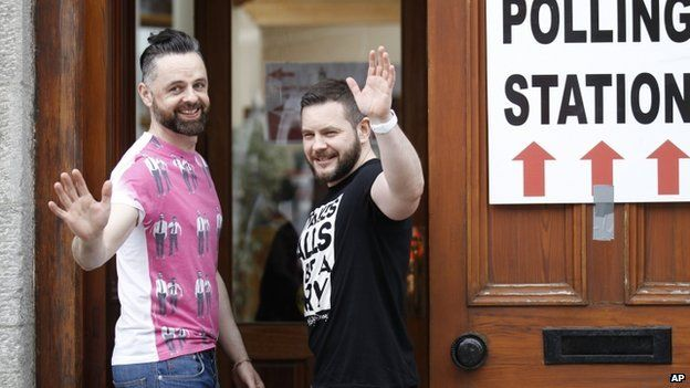 Partners_Adrian_and_Shane_casting_their_vote_in_Drogheda_County_Louth