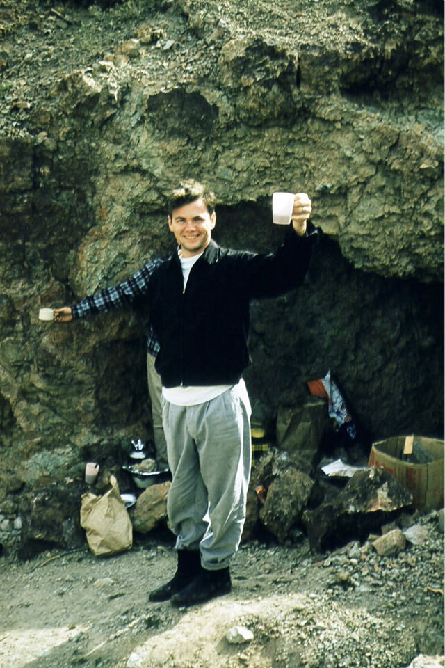 Philip in a Cave 1
