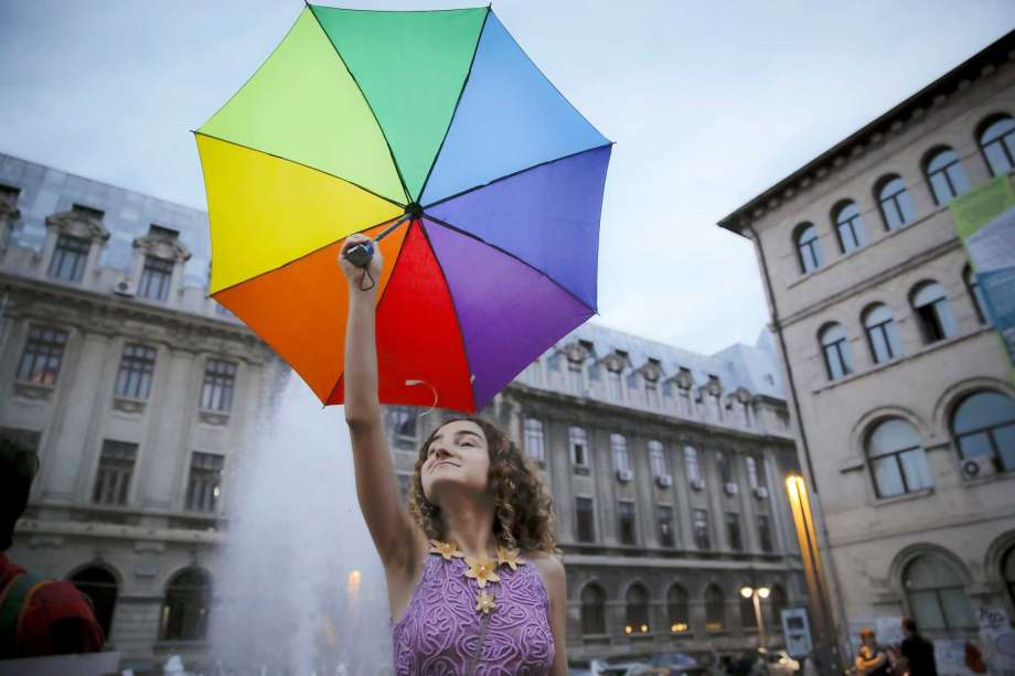 Gay Flag Umbrella
