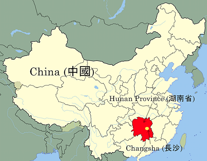 Changsha_China_Map