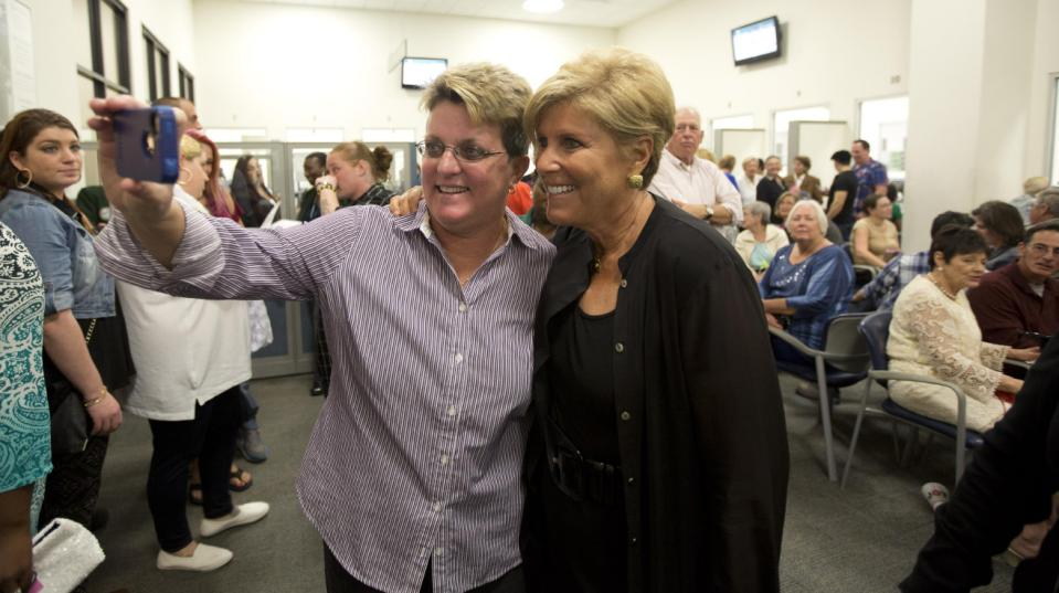Linda_Joyce_and_Suze_Orman_Supporters_of_Marriage_Equality_Delray_Beach