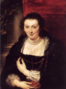 A portrait of Isabella Brandt 1610 by Rubens 2
