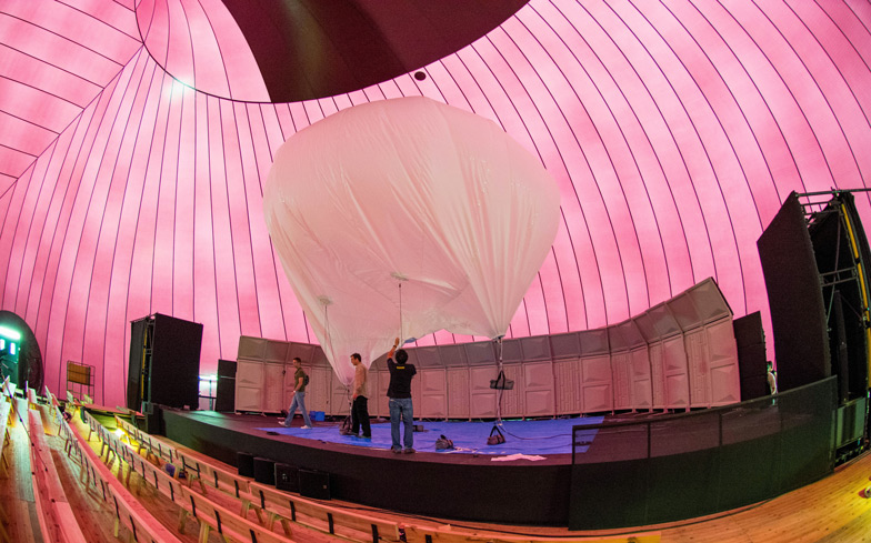 Ark Nova Inflatable Concert Hall