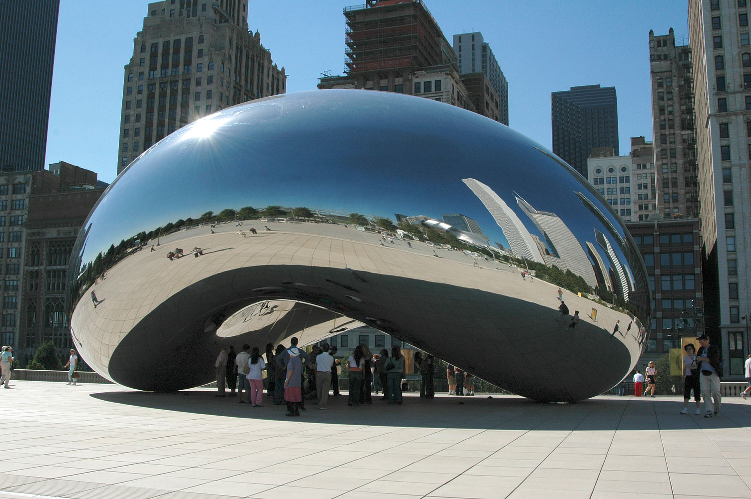 Cloud Gate Anish Kapoor