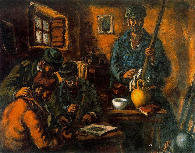 Arturo Souto bar w window and man