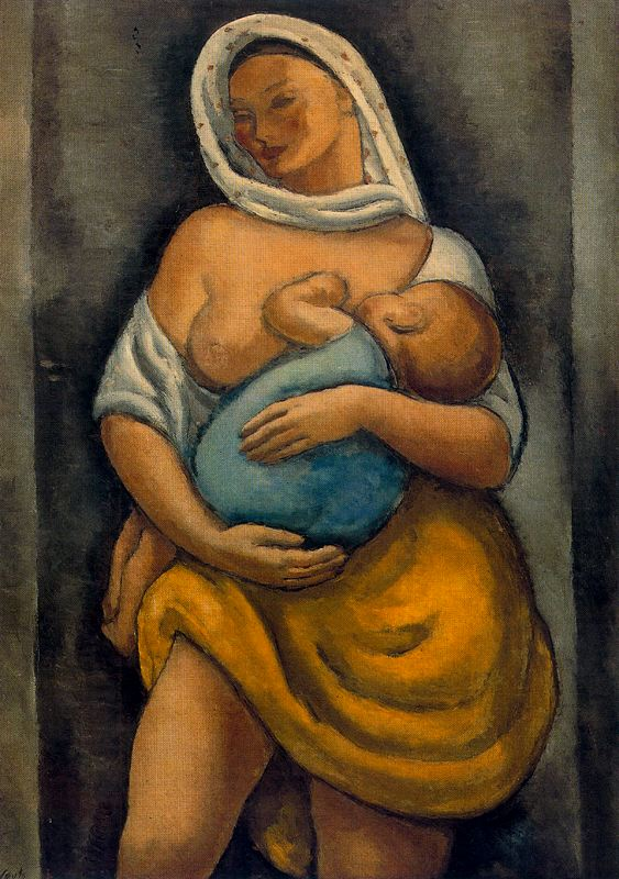 Arturo Souto breast feeding