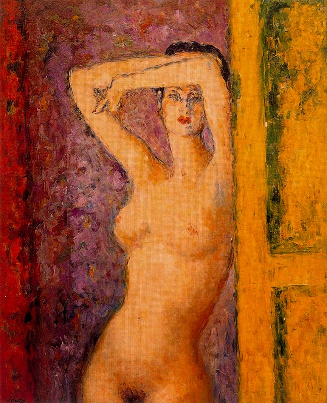 Arturo Souto naked woman raising hands