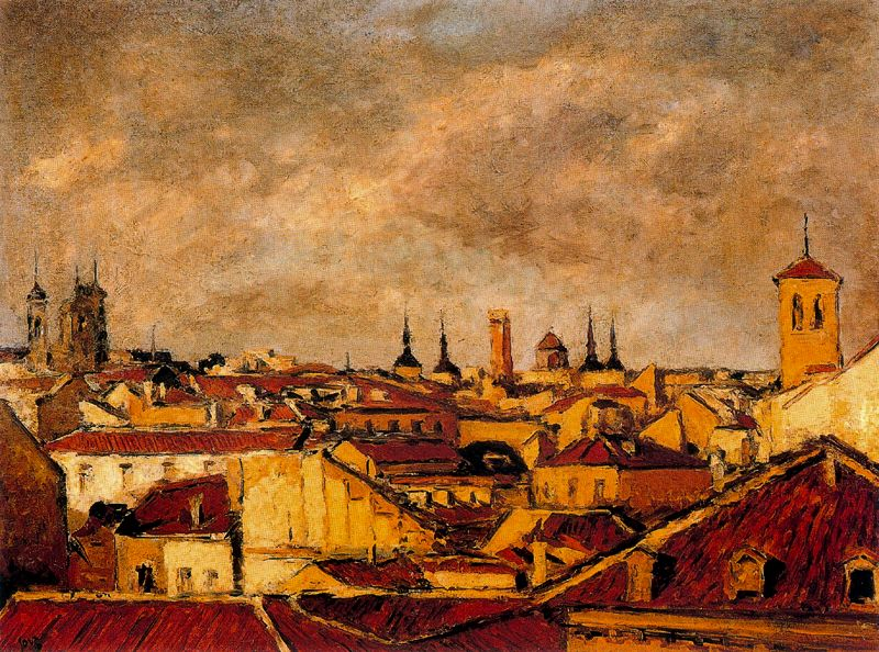 roofs of madrid 1955