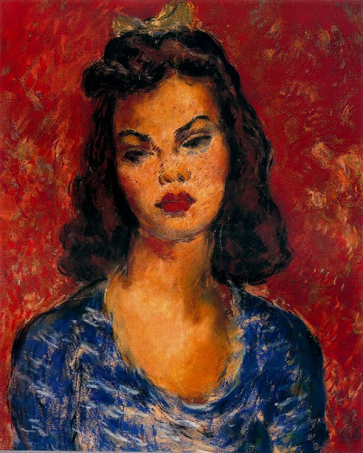 Arturo Souto teenage girl with bow
