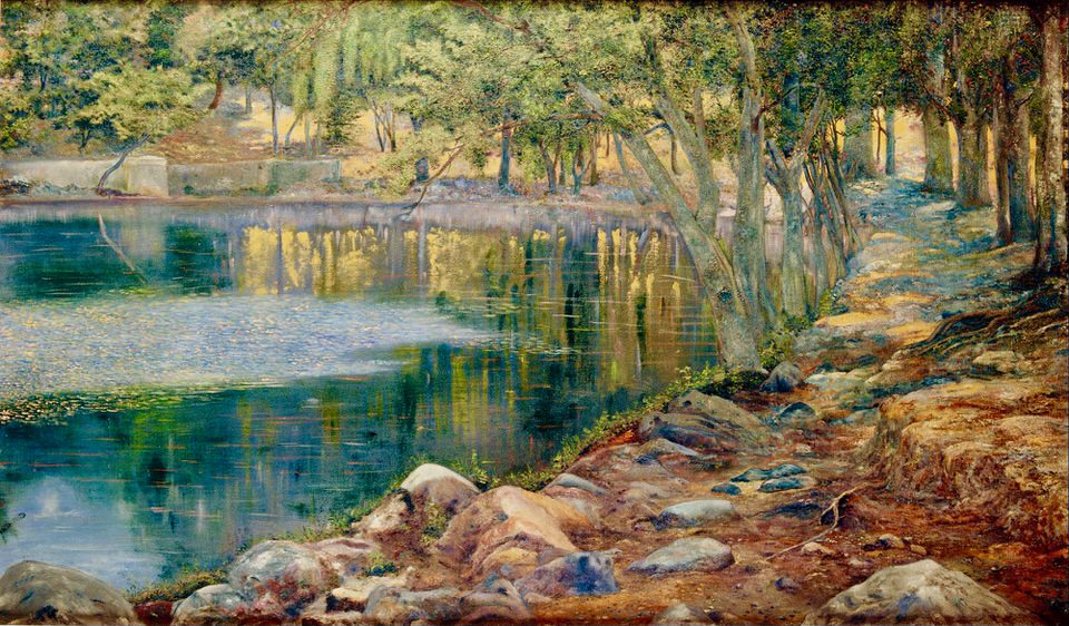 Joaquín Clausell Burgeoning Springs in Autumn Google Art Project 1