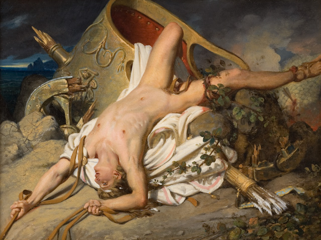 Joseph Desire Court Death of Hippolytus 1828