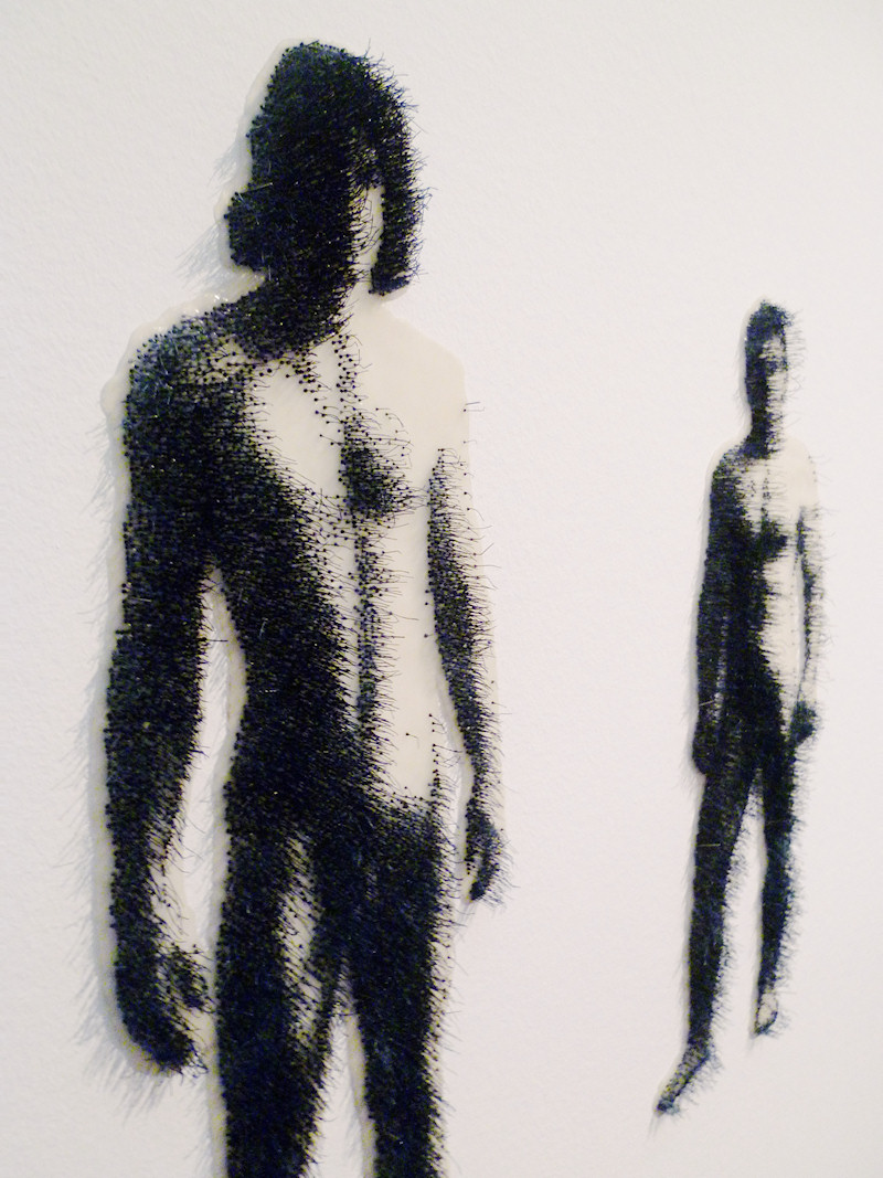 Male Nudes 2008 11. Three dimensional artwork by Ilse Haider.