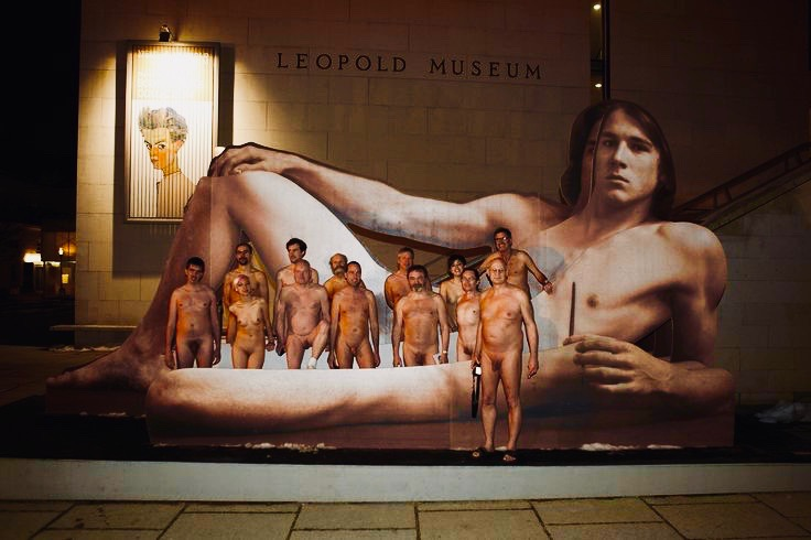 nudes for nude man Leopold Museum