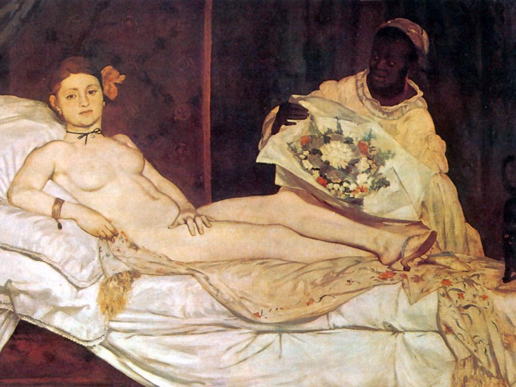 Olympia 1865 Manet