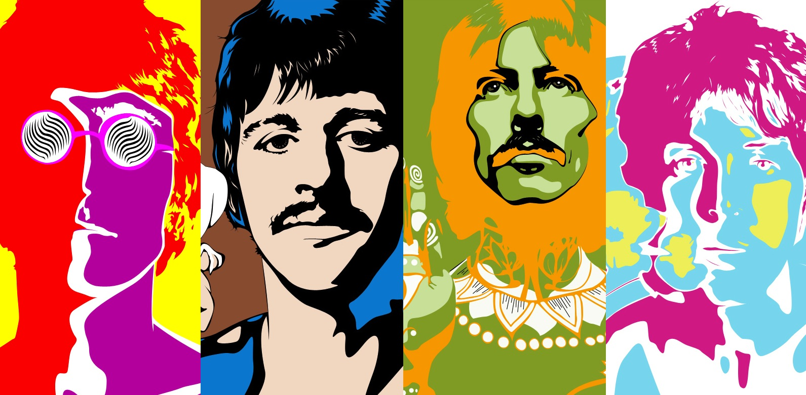 Beatles Peter Max