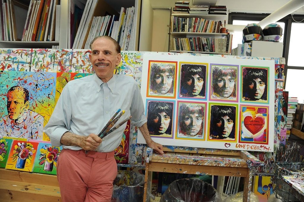 Peter Max 2012 Loosing his faculties
