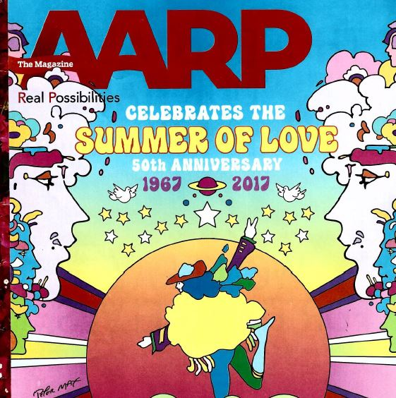 Peter Max AARP cover