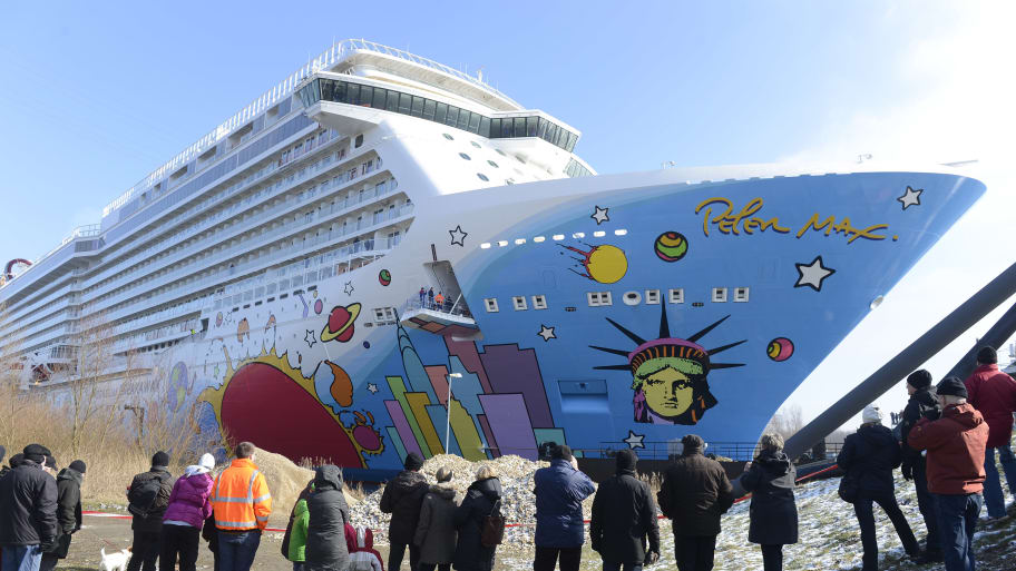 Peter Max Themed Cruise Ship