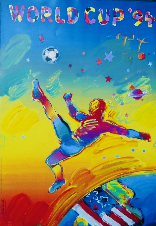 Peter Max World Cup 94