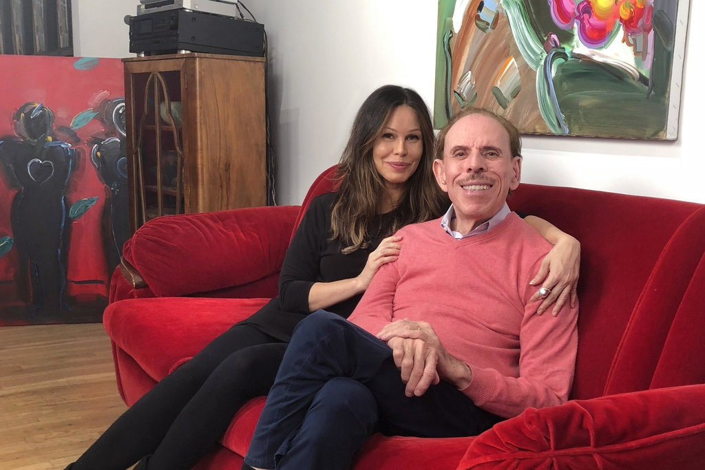 Peter Max and Daughter Libra