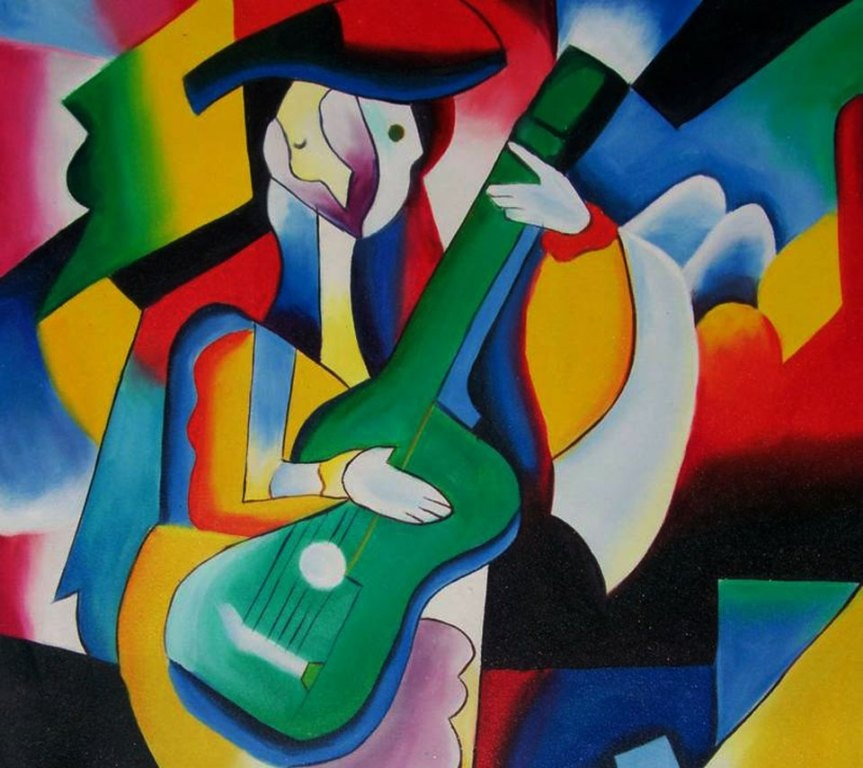 Pablo-Picasso_art_man_w_guitar