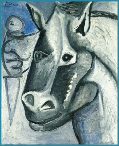 Picasso_Horse_with_knife