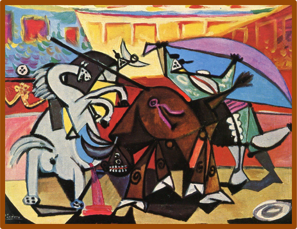 Picasso_cubist_BullFight
