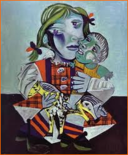 Picasso_holding_baby