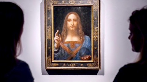 Jesus Painting from Leonardo De Vinci 2