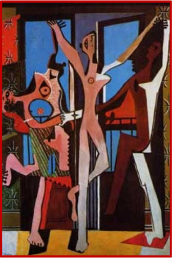 Picasso_Nakad_Woman_in_Cross