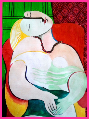 Picasso_Reclaining_Woman_w_Breast