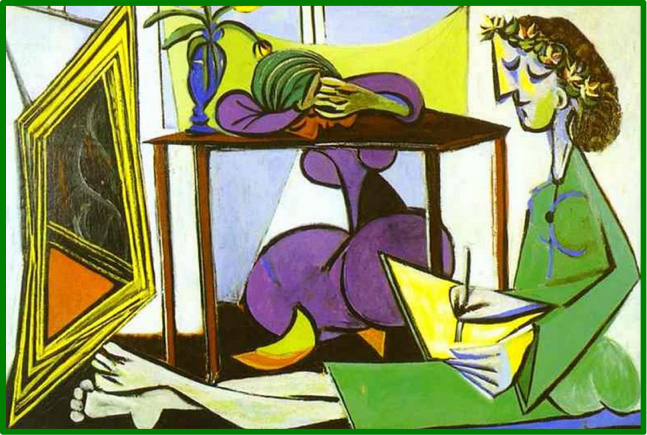 Picasso_Sitting_Green_Woman