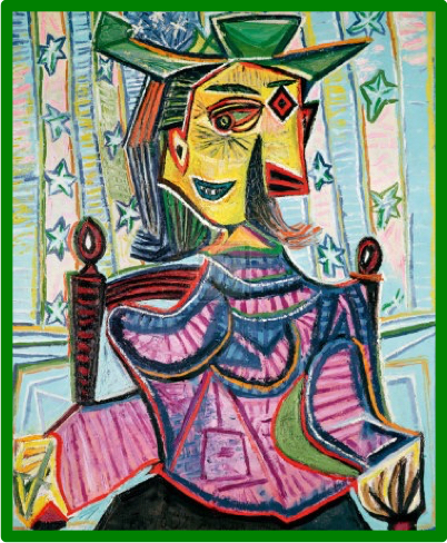 Picasso_Woman_in_Chair